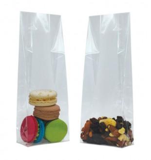 Прозрачные пакеты с прямоугольным дном