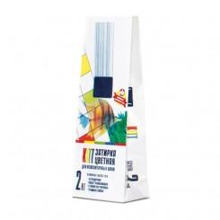 Бумажный 2-х слойный пакет с этикеточной бумагой под строительные смеси 2 кг